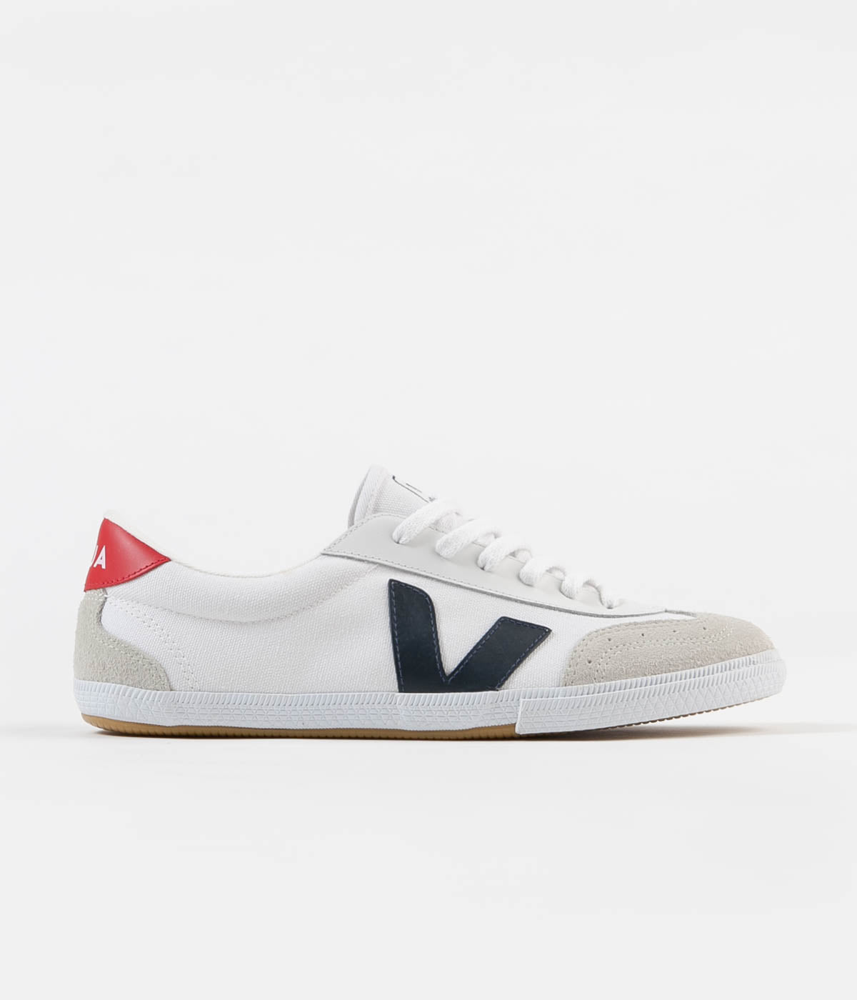cedea8a733 Veja Volley Canvas Shoes - White / Nautico / Pekin | Always in Colour