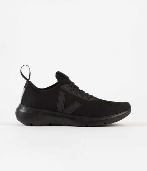 Veja x Rick Owens Runner Shoes - Full Black