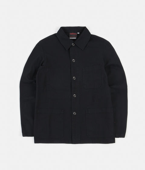 Vetra 5C Short Twill Workwear Jacket - Dark Navy