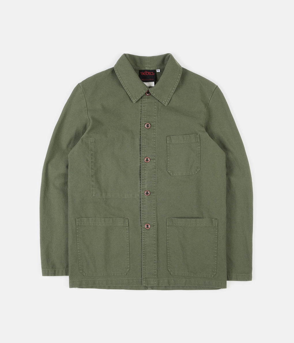 Vetra 5C Short Twill Workwear Jacket - Jade