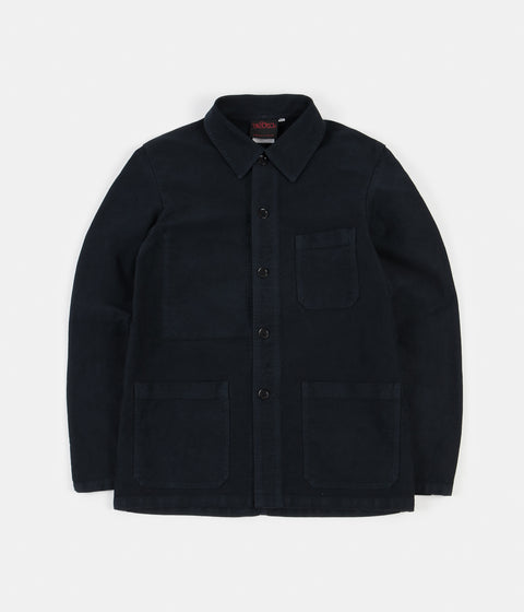 Vetra French Moleskin Jacket - Navy