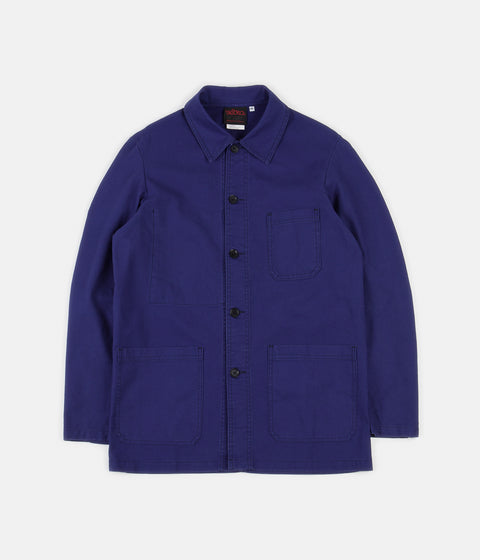 Vetra No.4 Workwear Jacket - Hydrone Blue