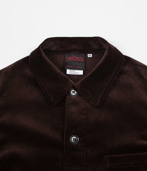 Vetra Medium Wale Corduroy Stretch Jacket - Brown