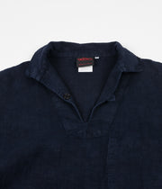 Vetra No.106 Linen Smock Jacket - Navy