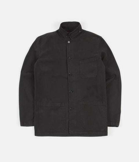 Vetra No.22 Workwear Jacket - Stone Washed Black