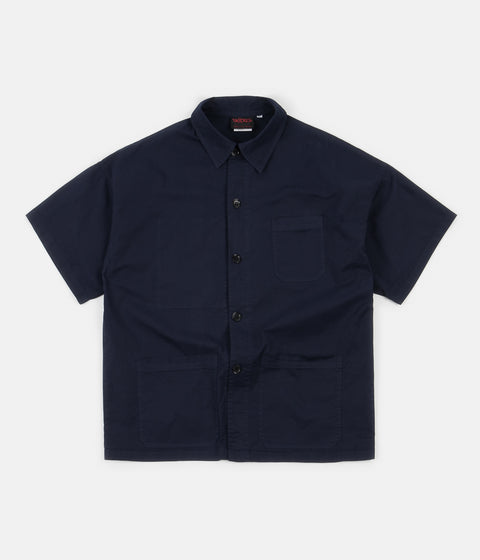 Vetra No.7 Shirt Jacket - Admiral Navy