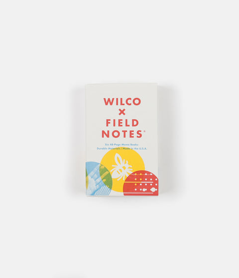 Wilco x Field Notes Box Set - 6 Pack