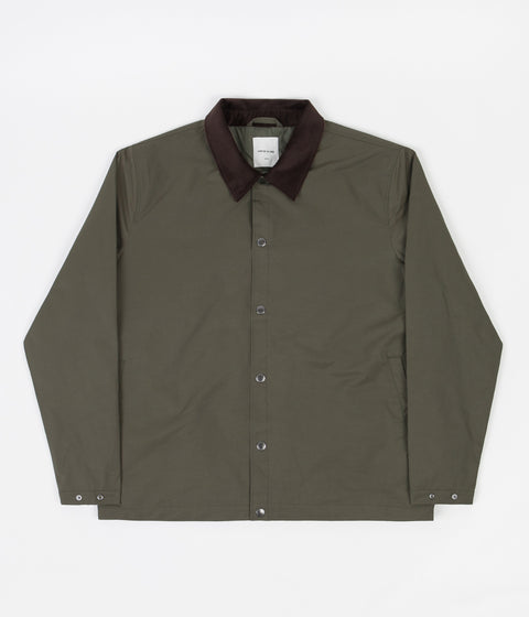 Wood Wood Bauer Tech Jacket - Dusty Green