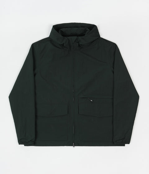Wood Wood Luke Nylon Jacket - Dark Green