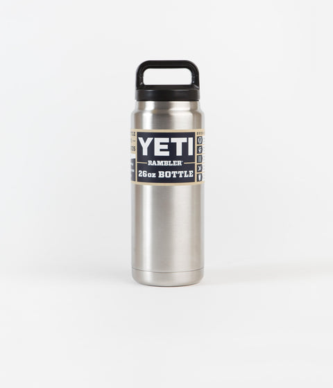 Yeti Rambler Bottle 26oz - Stainless Steel