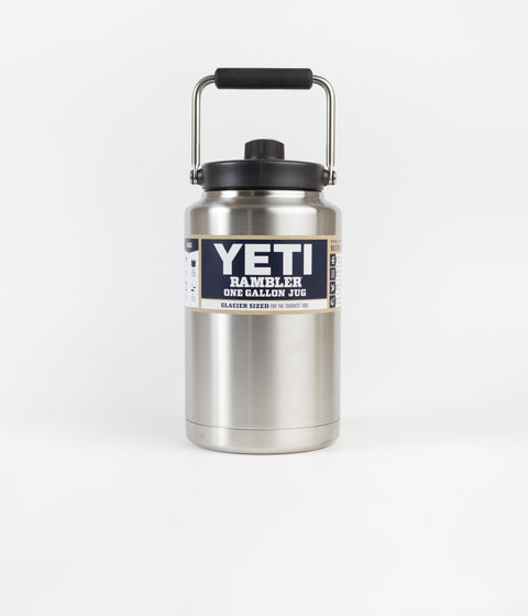 Yeti Rambler Jug 1 Gallon - Stainless Steel