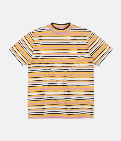 YMC Tutti Frutti Mock Neck T-Shirt - Multi