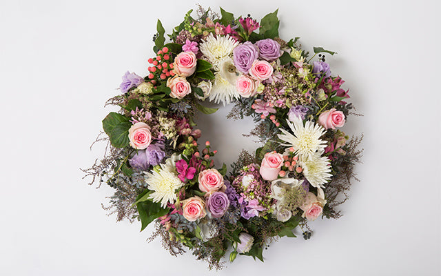 Funeral Wreathes, Hearts & Crosses