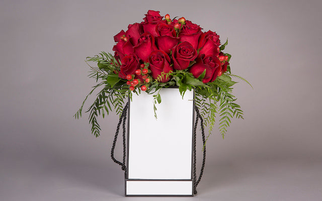 NEW: Luxe Hat Box Roses