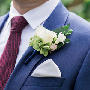 Groom Button Hole Mordialloc Florist. Photo by Passion8 Photography