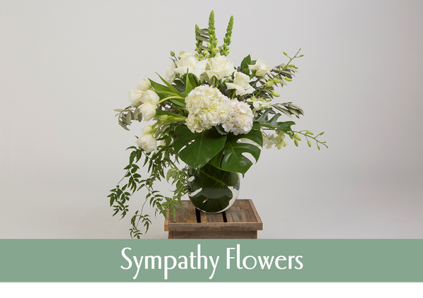 Sympathy Flowers, Condolence Flowers, Bereavement Flowers, Sympathy Gifts