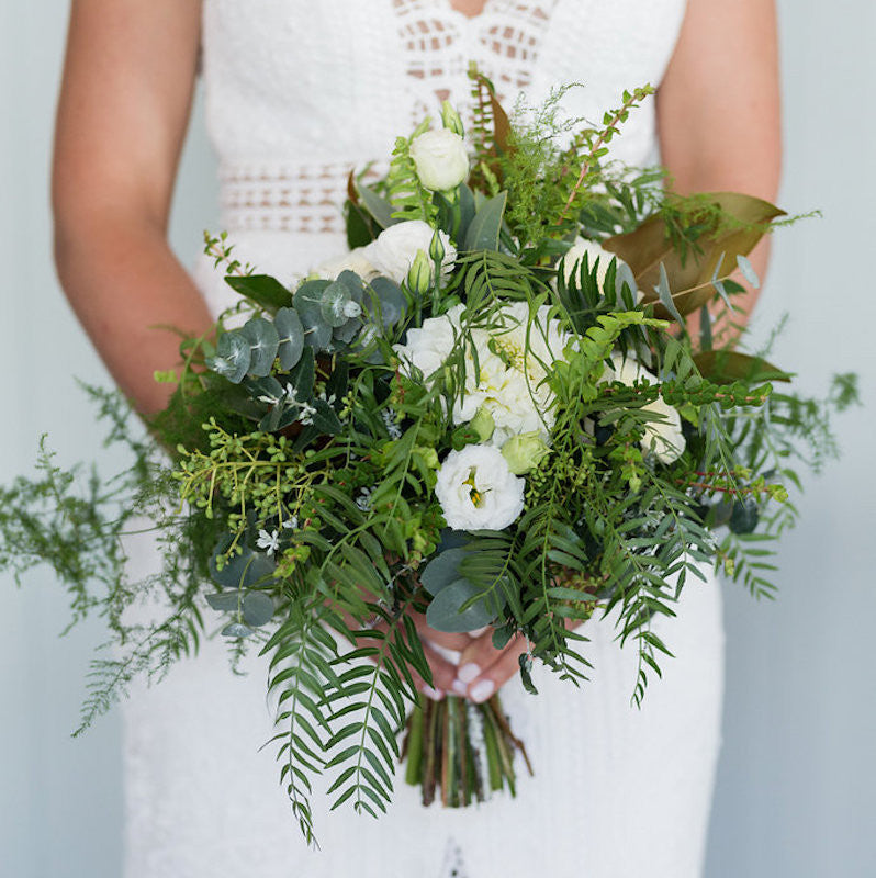 Bridal Bouquet by Mordialloc Florist. Photo by Sorrento Weddings Photography