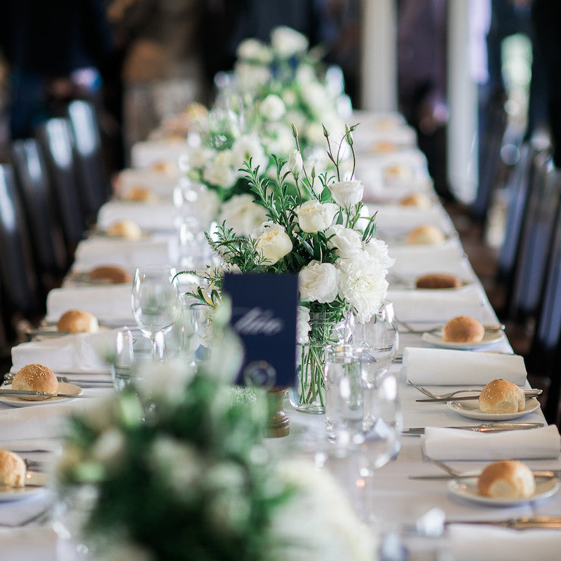 Table Wedding Flowers Mordialloc Florist. Photo by Passion8 Photography
