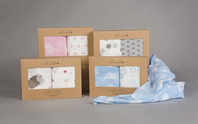 Real Florist. Real Flowers. Melbourne Online Delivery. Same Day | Emotion & Kids Muslin Wrap 2 Pack
