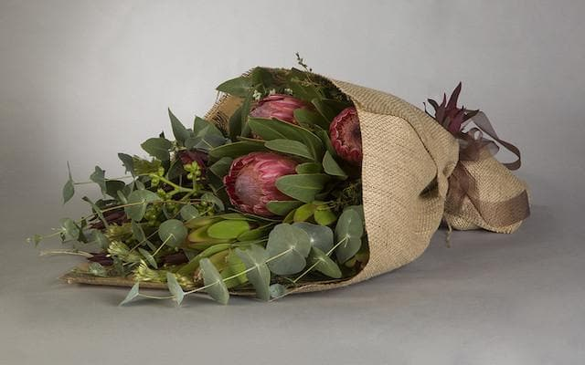Real Florist. Real Flowers. Melbourne Online Delivery. Same Day | Native Hand Tied Bouquet