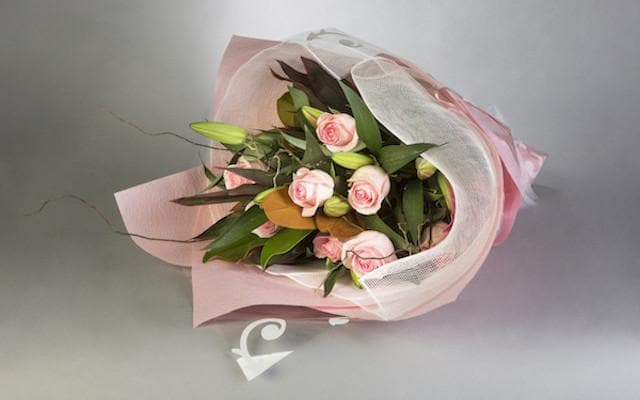 Fragrant Lilies and Beautiful Roses Bouquet - Mordialloc Florist