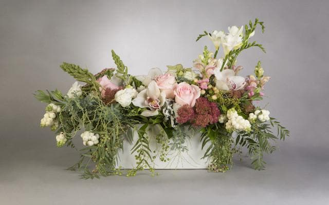 Oblong Table Centrepiece Arrangement - Mordialloc Florist