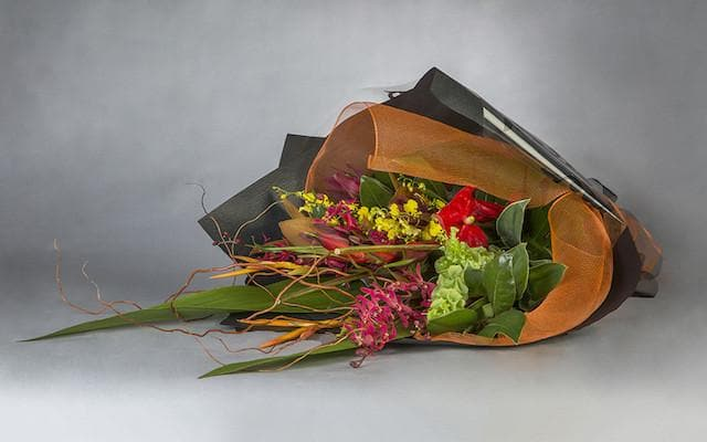 Real Florist. Real Flowers. Melbourne Online Delivery. Same Day | Tropical Hand Tied Bouquet