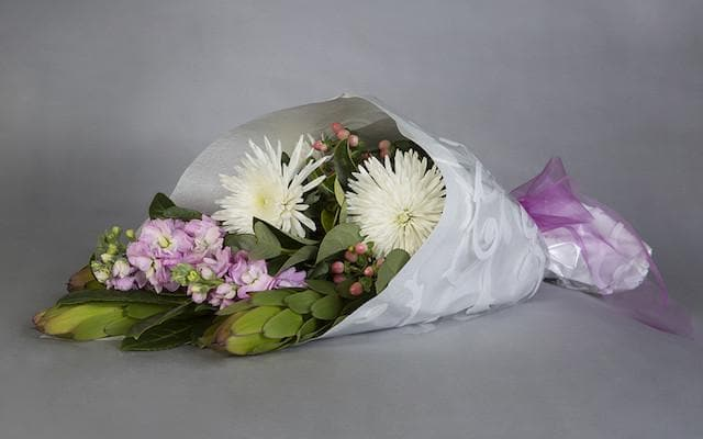 Seasonal Wrap Bouquet - Mordialloc Florist