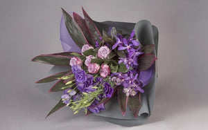 Real Florist. Real Flowers. Melbourne Online Delivery. Same Day | Purple Love Potion