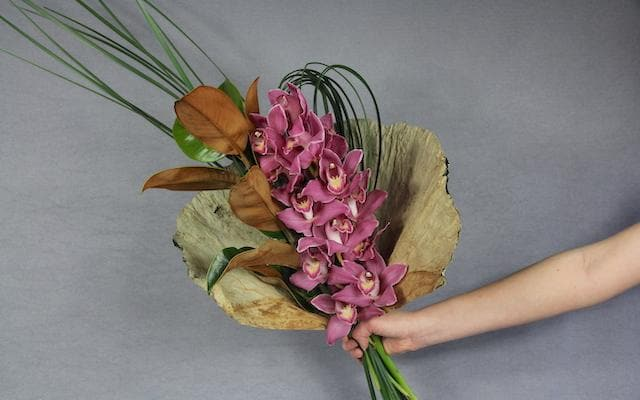 Real Florist. Real Flowers. Melbourne Online Delivery. Same Day | Cymbidium Wrap