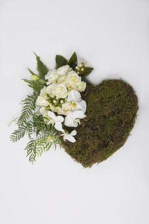 Real Florist. Real Flowers. Melbourne Online Delivery. Same Day | Heartfelt Harmony Premium Funeral Heart