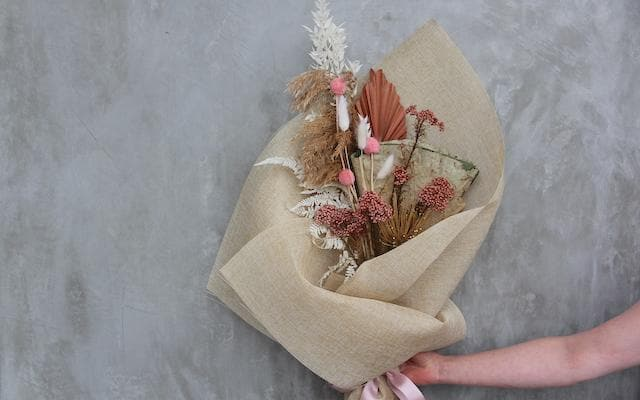 Lasting Love - Dried Flowers