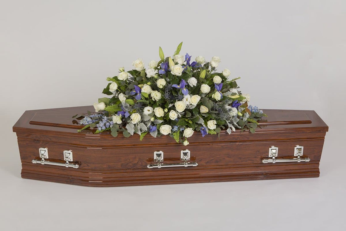 Real Florist. Real Flowers. Melbourne Online Delivery. Same Day | Looking into the Sky - Premium Casket & Coffin Flowers