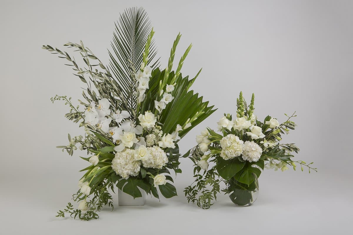 Real Florist. Real Flowers. Melbourne Online Delivery. Same Day | Contained Love - Premium Chapel Flower Arrangement