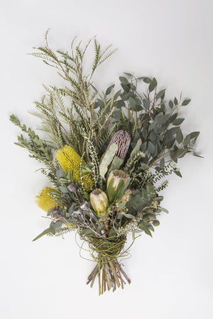 Real Florist. Real Flowers. Melbourne Online Delivery. Same Day | Native Hand Tied Premium Sympathy Sheaf
