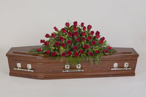 Real Florist. Real Flowers. Melbourne Online Delivery. Same Day | Rose Royalty - Premium Casket & Coffin Flowers