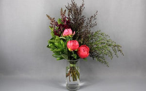 Real Florist. Real Flowers. Melbourne Online Delivery. Same Day | Snapdragon Peonie wrap