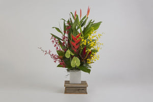 Real Florist. Real Flowers. Melbourne Online Delivery. Same Day | Don't let the Sun Set - Premium Sympathy Flower Arrangement