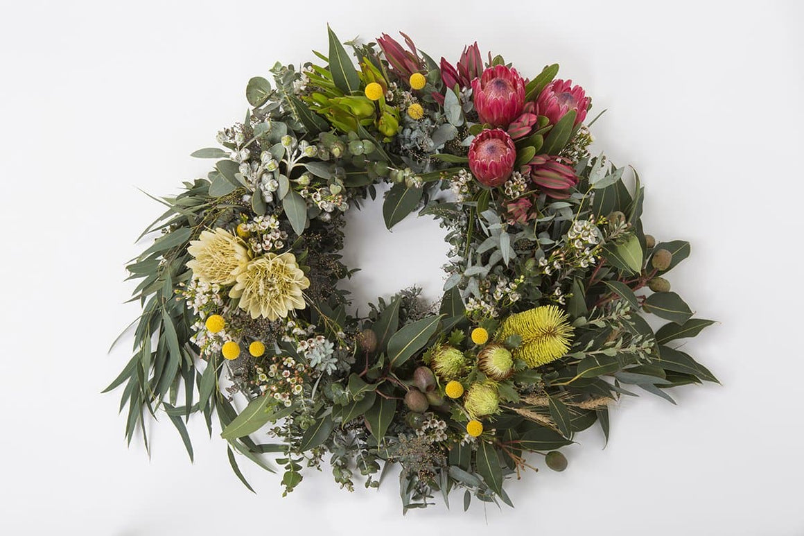 Real Florist. Real Flowers. Melbourne Online Delivery. Same Day | Native Premium Funeral Wreath