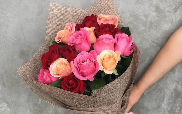 Real Florist. Real Flowers. Melbourne Online Delivery. Same Day | Rose Wrap