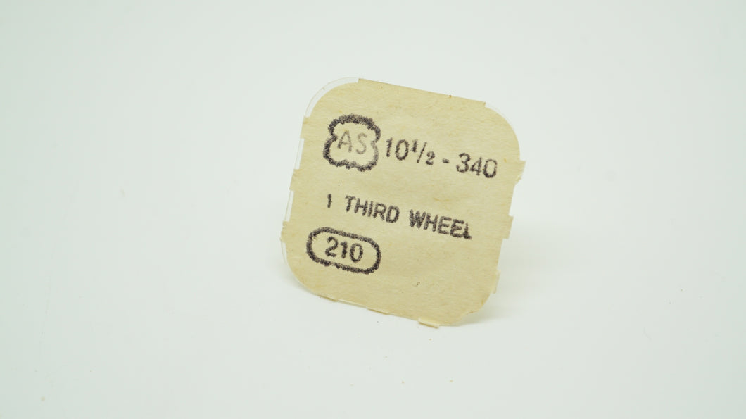 AS - Calibre 340 - Third Wheel #210-Welwyn Watch Parts
