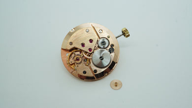 Recta ( MV ) EA1 Calibre Movement - Rose Gilt - Serviced-Welwyn Watch Parts