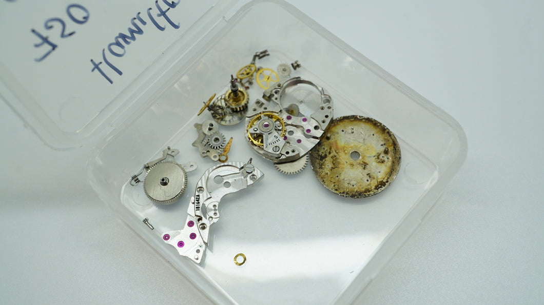 Hamilton Calibre 750 Spare Parts - Used/Clean-Welwyn Watch Parts