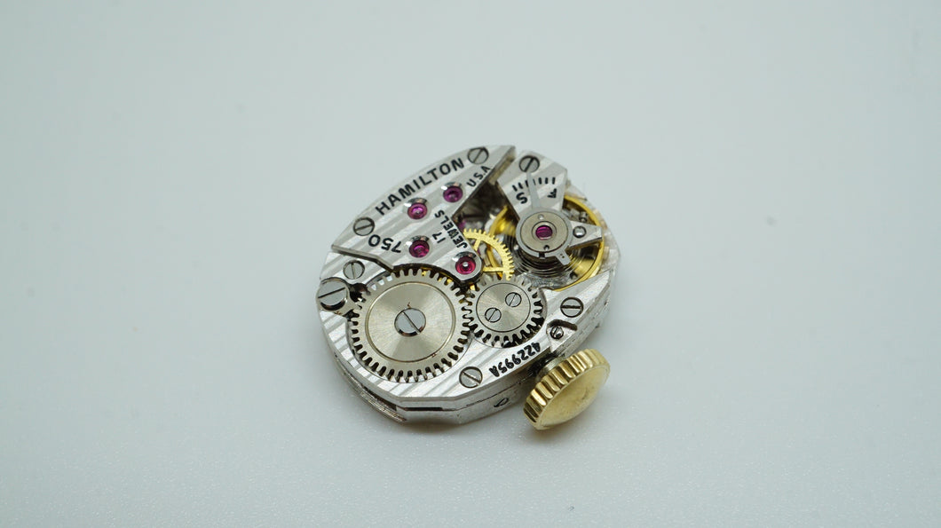 Hamilton Calibre 750 - Complete Movement & Dial-Welwyn Watch Parts