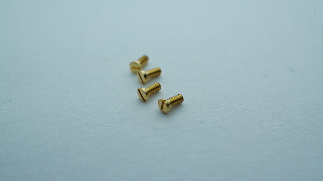 Cartier Santos Gold Screws - Part# VA050002-Welwyn Watch Parts