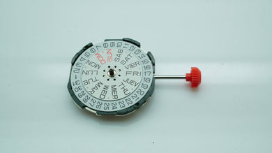 Miyota Quartz - Cal 2105 - Date @ 3-Welwyn Watch Parts