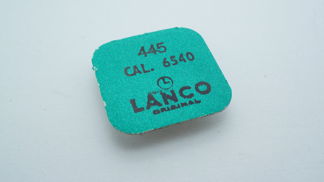 Lanco - Cal 6540 - Part#445 Setting Lever Spring + Screws-Welwyn Watch Parts