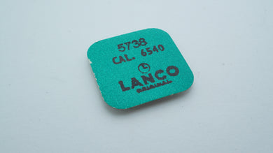 Lanco - Cal 6540 - Part#5738 Balance Stud Screws x 5-Welwyn Watch Parts