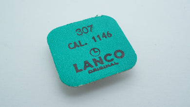 Lanco - Cal 1146 - Part#307 Regulator Complete-Welwyn Watch Parts