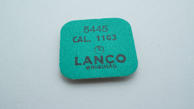 Lanco - Cal 1103 - Part#5445 Screw for Setting Lever Spring x 5-Welwyn Watch Parts